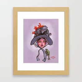El Gorrito Framed Art Print