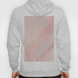 Delicate Pink Marble Hoody