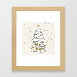 Merry Christmas To You Framed Art Print