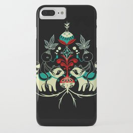 Mandragora and racoon. iPhone Case