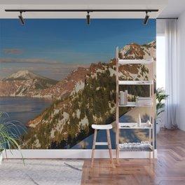 Crater Lake - Spring II Wall Mural