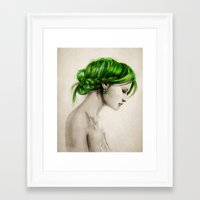 clover Framed Art Prints featuring Clover by Isaiah K. Stephens