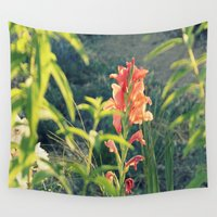 into the wild Wall Tapestries featuring Wild by LilyMichael Photography