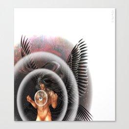 heavenly body - archangel micheal Canvas Print
