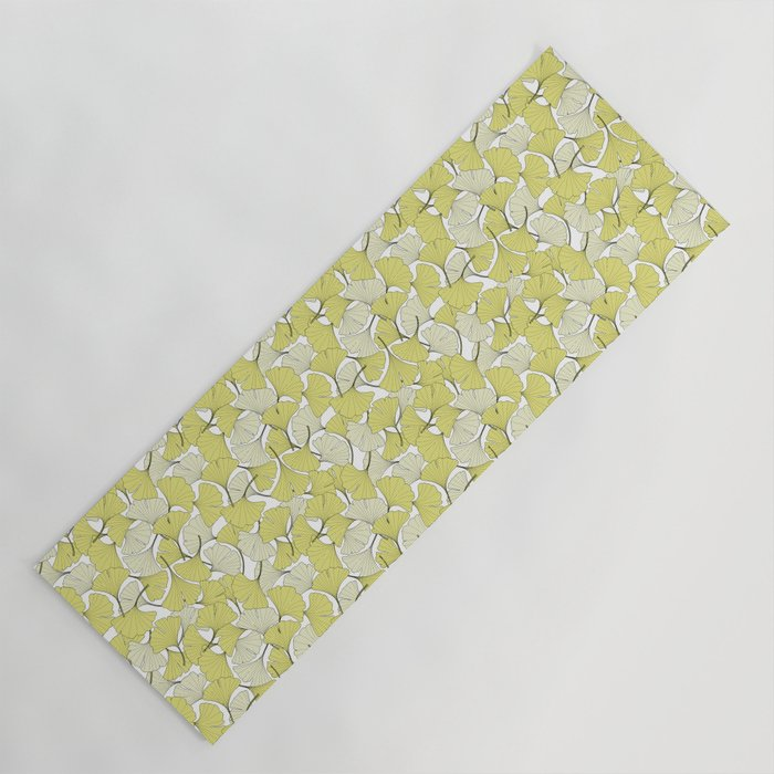 ginkgo leaves (special edition) Yoga Mat