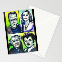Munster Family Stationery Cards