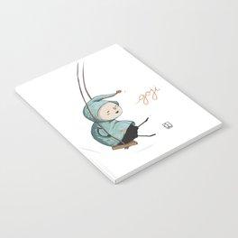 Goji on the swing Notebook
