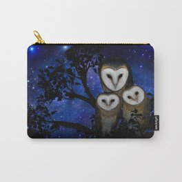 Owl Family Carry-All Pouch