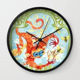 Monkey Games Wall Clock