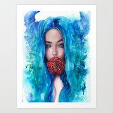 Rose Trap Art Print