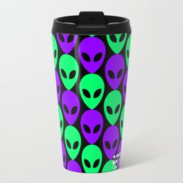 Alien Print Travel Mug