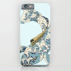 Koi japanese fish number two Slim Case iPhone 6s