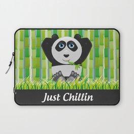 Panda Chillin Laptop Sleeve