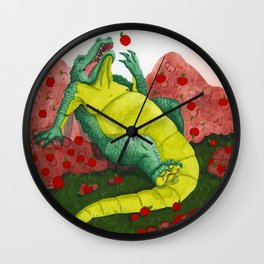 Allison's Alligator Wall Clock