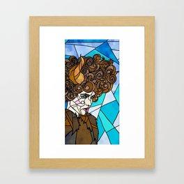 BEASTLY BEAUTY Framed Art Print