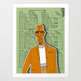 1001 Black Men--#280 Art Print