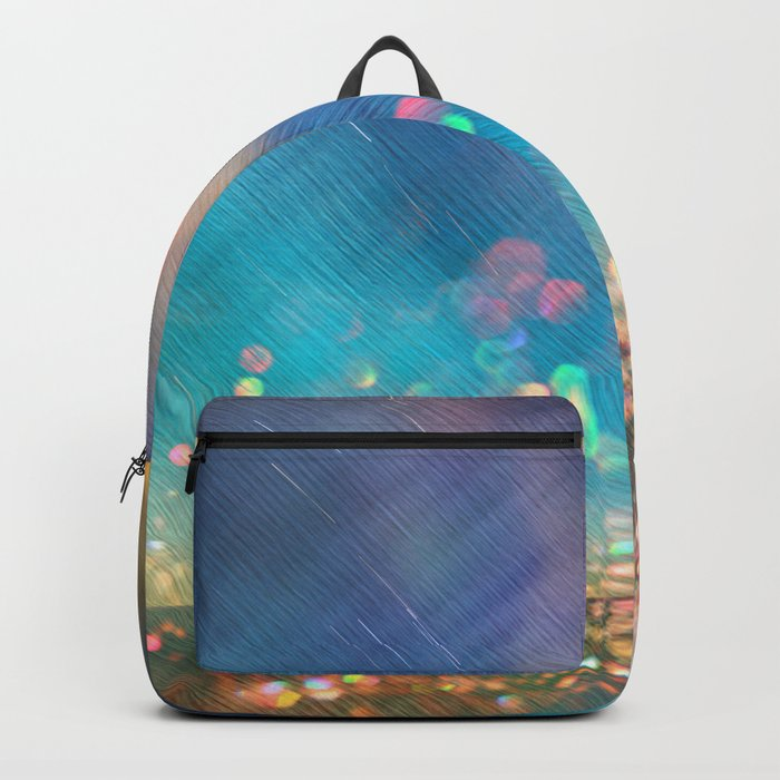 Dazzling lights I Backpack