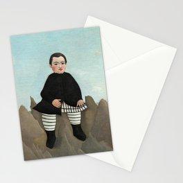 Henri Rousseau, Boy on the Rocks, 1895 Stationery Cards