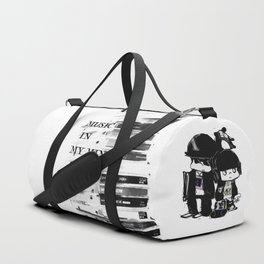 music in my mind Duffle Bag