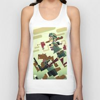 tank girl Tank Tops featuring Tank Girl by Gabriela Zurda