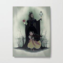 Snow White - Poster Metal Print