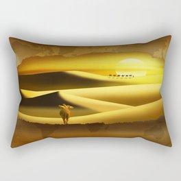 The cracking II Rectangular Pillow
