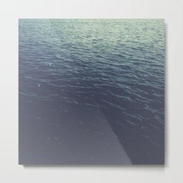 On the Sea Metal Print