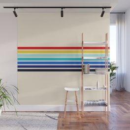Classic 70s Style Retro Stripes - Inera Wall Mural