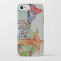 rio de janeiro iPhone & iPod Cases featuring Rio de Janeiro by Danielle Lima