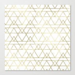 Modern Gold Canvas Print