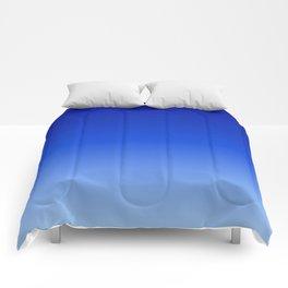 Deep Blue/Light Blue Ombre Comforters
