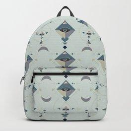 The Magic Eye Sacred Geometry Backpack