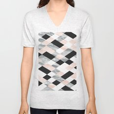 Pastel Scheme Geometry Unisex V-Neck