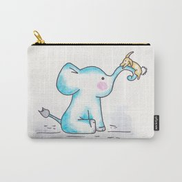 Elephant and Bunny Carry-All Pouch