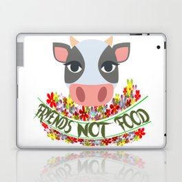 COW, FRIENDS NOT FOOD Laptop & iPad Skin