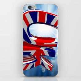 UK - United Kingdom iPhone Skin