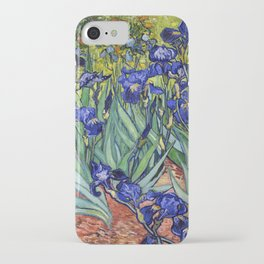 Irises by Vincent van Gogh iPhone Case