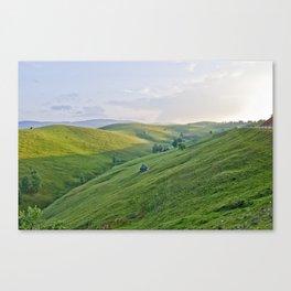 Valari - the sheperds mountain Canvas Print