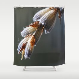 LAVENDER Macro Photography Shower Curtain