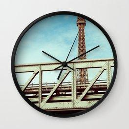 IRON UNDER THE SUN. Wall Clock