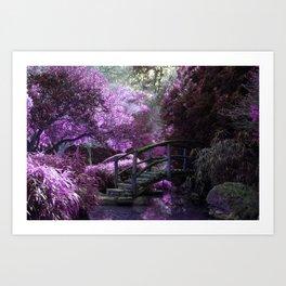Tea Garden Art Print