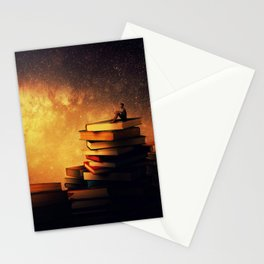 midnight tale Stationery Cards