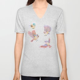 Birds of Paradise Unisex V-Neck