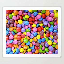 Candy!!! Art Print