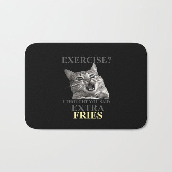 exercise what? Bath Mat