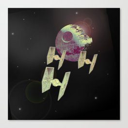 Sky Wars Canvas Print