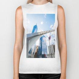 One World Trade Center and Oculus in New York Biker Tank