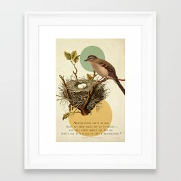To Kill A Mockingbird Framed Art Print