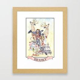 Bill Brasky Framed Art Print