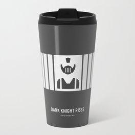 Flat Christopher Nolan movie poster: Dark K. R. Travel Mug
